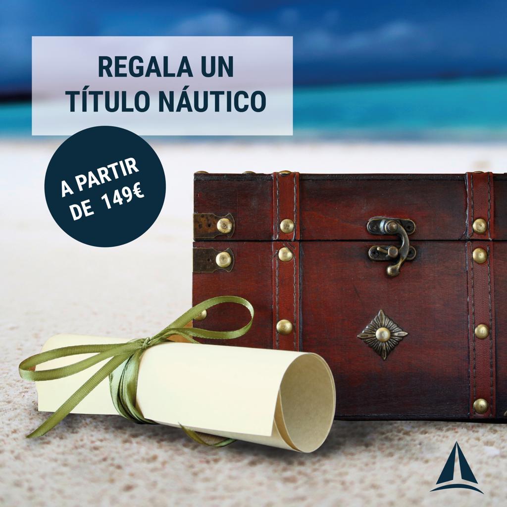 título náutico regalo elcano escuela náutica en madrid